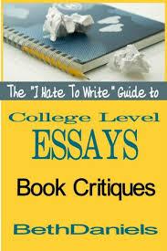 Buy College Essay Books