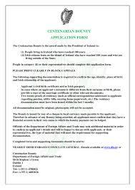 Application For Residency