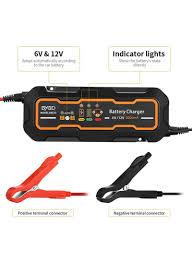 Car Battery Charger Indicator Lights Shop Bygd 6v 12v 3a Smart Car Battery Charger Portable Full