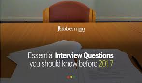 interview questions for headteachers essential interview questions you should know before 2017