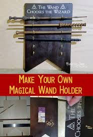 best harry potter room ideas harry potter diy harry potter inspired wand holder and display