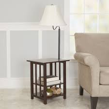 wooden side table lamps best of better homes how tall should end table lamps be