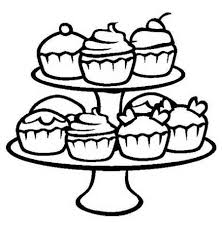 Small Picture cupcake coloring page free printable cupcakes coloring pages