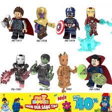 Non-LEGO] Các Nhân Vật Siêu Anh Hùng Avengers Và Thanos PG8226 - Đồ Chơi  Xếp Hình Lắp Ráp [C4], Giá tháng 11/2020