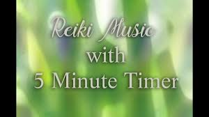 5 Min Timer With Music Reiki Timer With Music Windchimes Nature Sounds And Wooden Flute