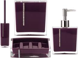 Purple Bathroom Accessories Set Accessories Purple Bathroom Accessories With Smashing Bathroom