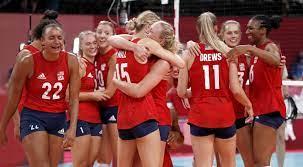 U.S. women's volleyball beats Brazil ...