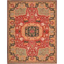 nourmak 63 red 12 x18 old world rectangle 12x18 hand