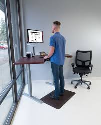 Standing Desk Extension Omega Olympus Standing Desk With Built In Steadytype Keyboard Tray