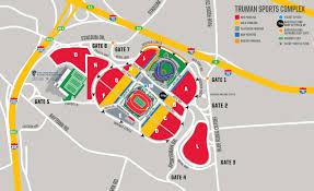 Chiefs Arrowhead Stadium Seating Chart Chiefs Parking Tailgating Directions Maps Kansas