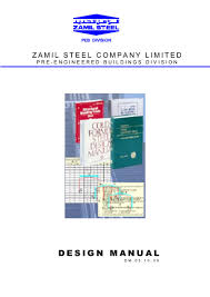 Peb Structure Design Procedure Steel Structural Design Manual For Engineers