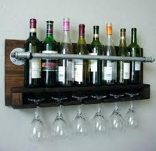 wine rack wall unit wine wall rack wall mounted wine rack with glass holder wall wine