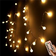 Battery Powered Outdoor Globe Lights 10m 100 Led Outdoor Fairy Lights Battery Powered 8 Modes
