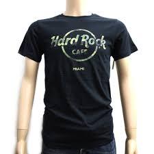 hard rock cafe mens camo graphic tee