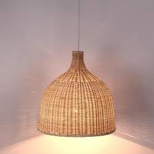 Large pendant lighting fixtures Colorful Bamboo Wicker Raan Shade Pendant Lights Fixture Rustic Japanese Style Tatami Hanging Lamp Lustre Luminaire Dining Table Room Large Pendant Light Vintage Renegade Art Glass Bamboo Wicker Raan Shade Pendant Lights Fixture Rustic Japanese