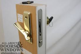 great patio door lock repair replacing a sheared tailpiece receiver in an andersen sliding