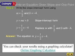 you can check your results using a graphing calculator
