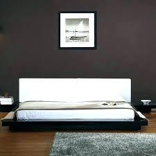 sunken bed frame. Wonderful Sunken Sunken Platform Bed Frame Carter Upholstered    On Sunken Bed Frame L