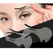 eye stencils makeup stencil eyeline models template eyeliner card tool