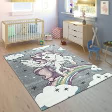 Amazonde Paco Home Kinderteppich Kinderzimmer Konturenschnitt