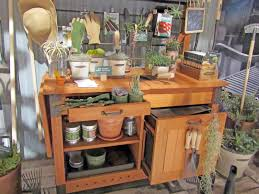 Potting Benches 65 Awesome Potting Benches For Every Gardener Home Garden Ideas