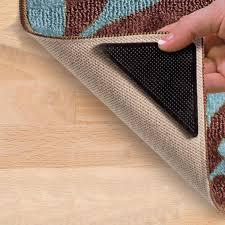 rug gripper non slip area rug pad self adhesive carpet corner anti skid stopper set rug grippe non slip area rug pad anti skid stoppe with