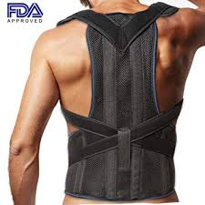 Posture Corrector Clavicle and Lower Back Support for Men Women - Deluxe, Comfortable Amazon.com: