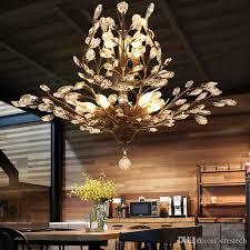 k9 crystal chandelier tree branch pendant lamps vintage crystal chandeliers iron chandeliers modern living ceiling light lighting fixture designer