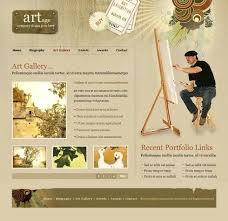 Gallery Website Template Free