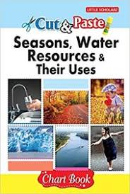 Water Resources Chart Buy Cut Paste Seasons Water Resources Chart Book Book