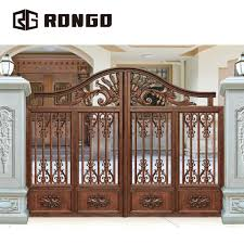 Gate Designs Photos Rongo New Style Iron House Gate Designs Buy Gate Color Design Iron Gates For Sale Indian Style Automatic Sliding Gate Design Product On Alibaba Com