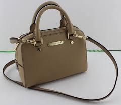 michael kors jet set travel small cross satchel saffiano leather camel