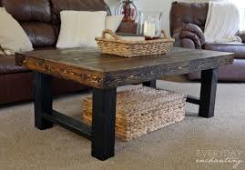 Top 9 The Inspired Diy Coffee Table Legs