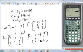 cramer s rule 3x3 on calculator