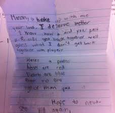 Breakup Letters 15 Impossibly Adorable Breakup Letters From Little Kids | TheDailyBuzz