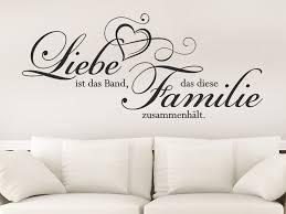 Wandtattoo Liebe Ist Das Band Dass Diese Familie Wandtattoode