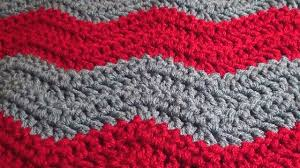 Crochet Patterns Blanket Best Soft Crochet Chevron Blanket Pattern Crochet Hooks You