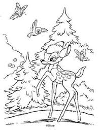 Small Picture Discover this amazing coloring page of Bambi Disney Movie Here