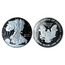 3mm silver statue of liberty memorative round collector coin collection gifts 4 4 of 8