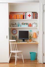 Home office small space Diy Small Space Home Office Solutions The Everygirl Small Space Home Office Solutions The Everygirl