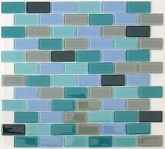 sample rip curl green and blue hand painted linear glass mosaic tiles com sea glass tiles backsplash green glass tile kitchen backspla