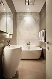 Image of: elegant narrow bathtub