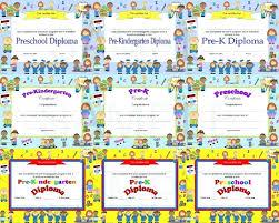 Printable Preschool Graduation Awards Download Them Or Print