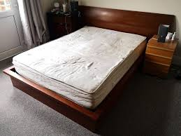 King Size Bed with Mattress and Frame/Very sturdy! Cheap | in ...