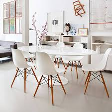 ... Dining Chair, Eames Style Dining Chair Six Design: Cute Eames Style Dining  Chair Design ...
