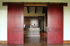 red barn doors. Stunning Red Sliding Barn Door With Doors