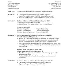 Sample Resume For Internship In Engineering Resume For Engineering