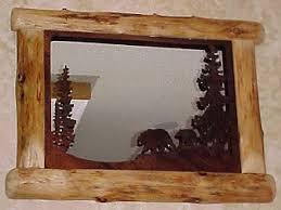 log reclaimed wood picture frames diy