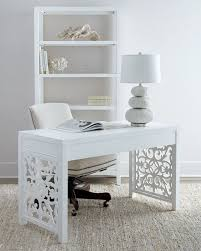 home office white desk. gorgeous details on this white desk scroll sides home office m