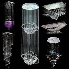 modern led lighting lamps large crystal chandelier with ce with regard to amazing property crystal led light plan